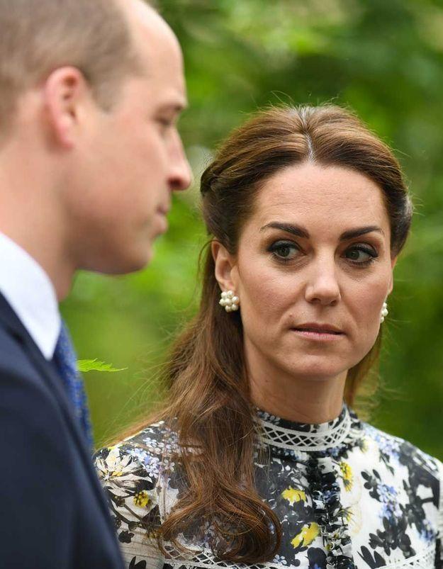 Kate Middleton et le prince William impliqués dans un grave accident de voiture