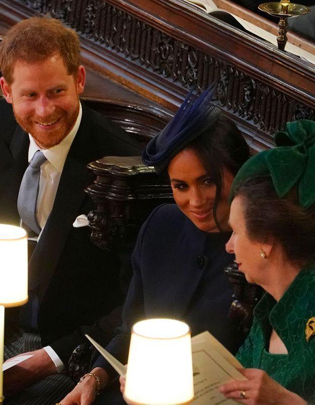 Harry, Meghan et la princesse Anne