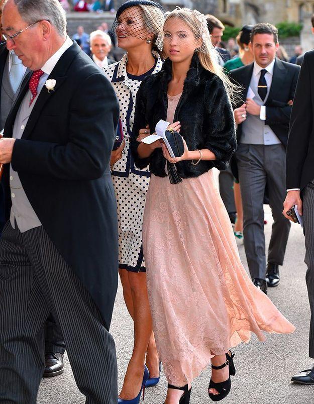 Kate Moss et sa fille Lila