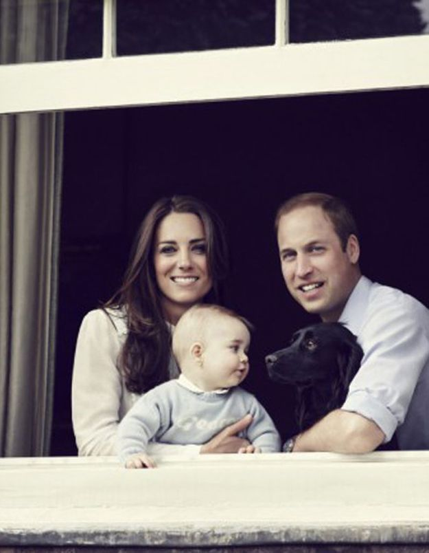 Kate Middleton habille le prince George chez Gap