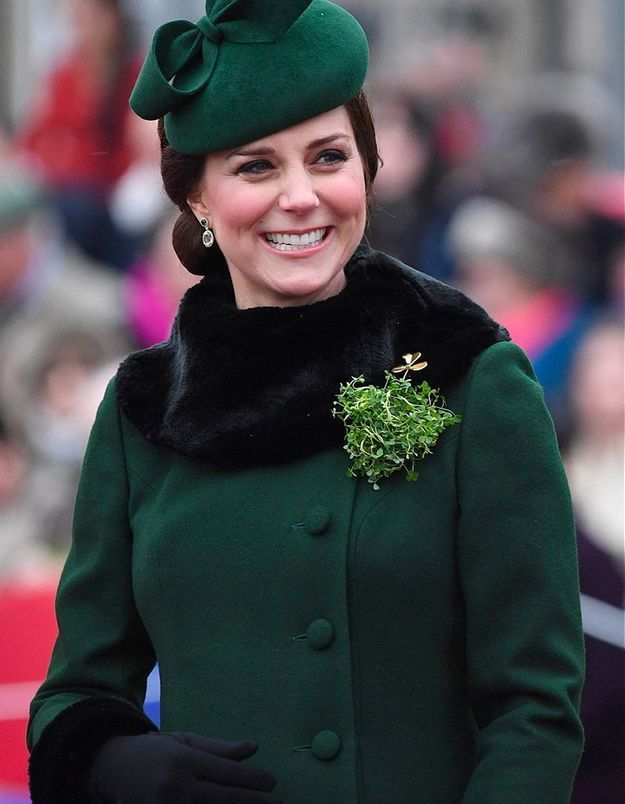 Tout de vert vêtue pour fêter la Saint Patrick !