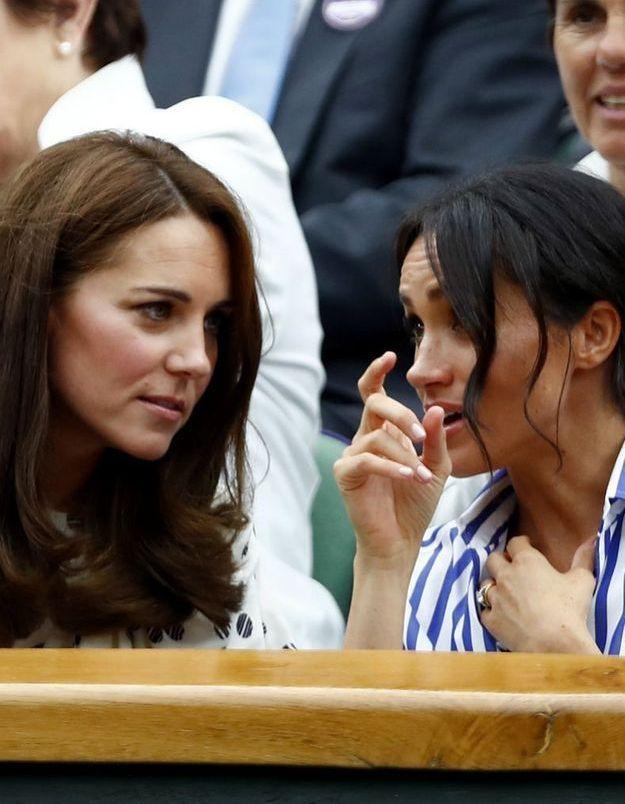 Kate Middleton : son nouveau geste qui prouve qu'elle n'apprécie pas beaucoup Meghan Markle