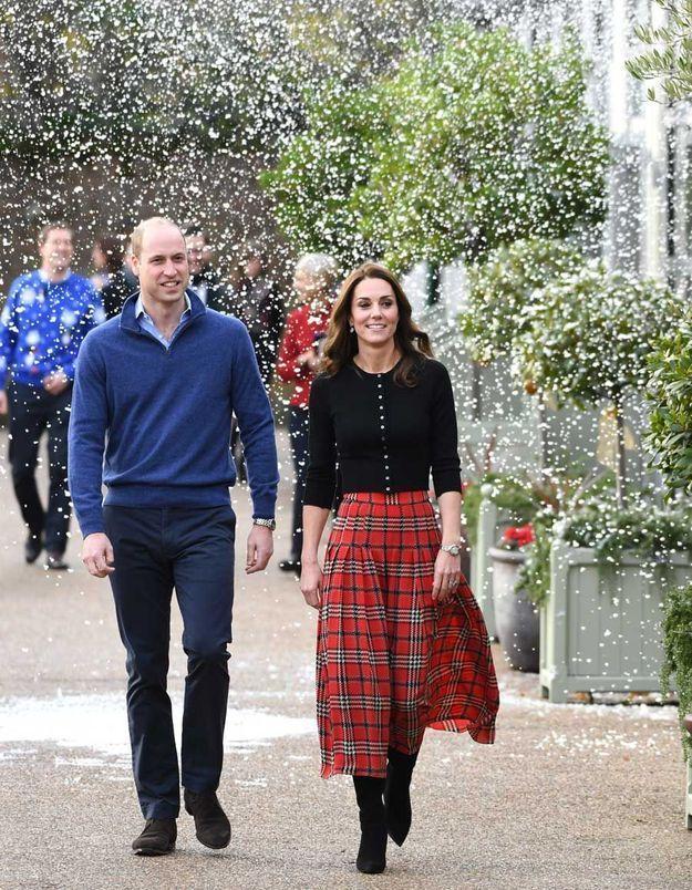 Kate et William à Kensington Palace
