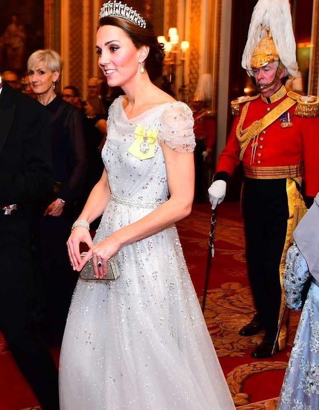Kate Middleton à la réception de Buckingham Palace