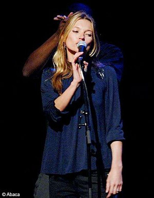 Kate Moss, bientôt en solo sur scène