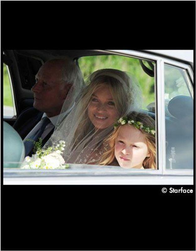 Kate Moss en mariée, on y est !