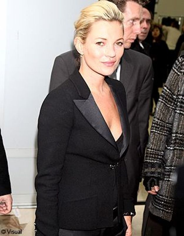 Kate Moss, l'apparition divine chez Chanel !
