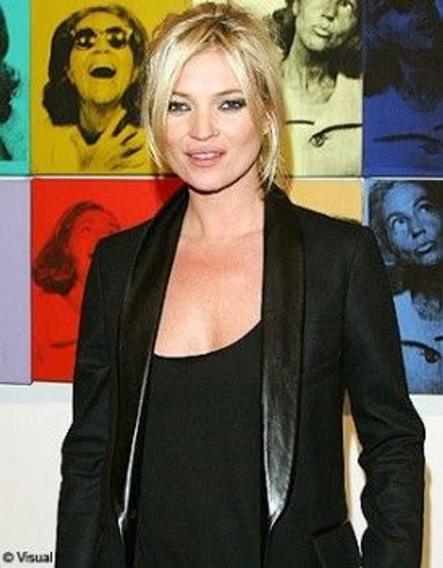 Kate Moss s'installe à Paris !