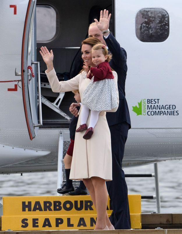 Le couple princier et les enfants s'apprêtent à rentrer en Angleterre.