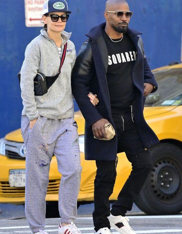 Katie Holmes et Jamie Foxx : amoureux dans les rues de New-York