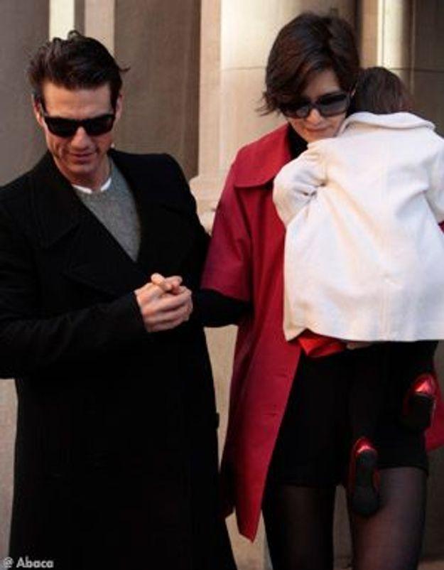 Katie Holmes et Tom Cruise : protégés par la police