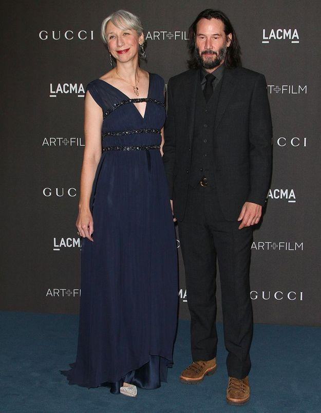 Keanu Reeves en couple avec Alexandra Grant : il officialise sur tapis rouge !