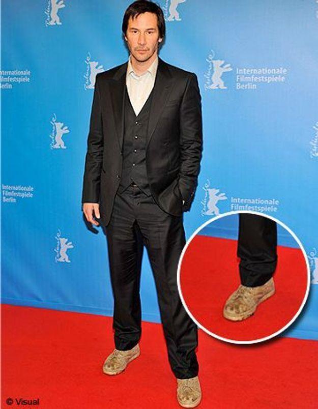 Keanu Reeves : fashion faux pas sur tapis rouge !