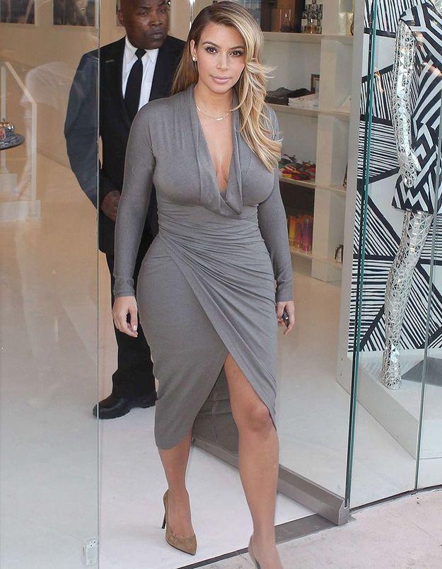 Kim Kardashian a perdu beaucoup de poids et on sait comment