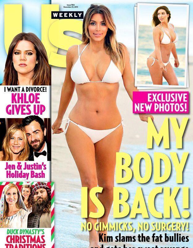 Kim Kardashian a retrouvé la ligne et elle le prouve !