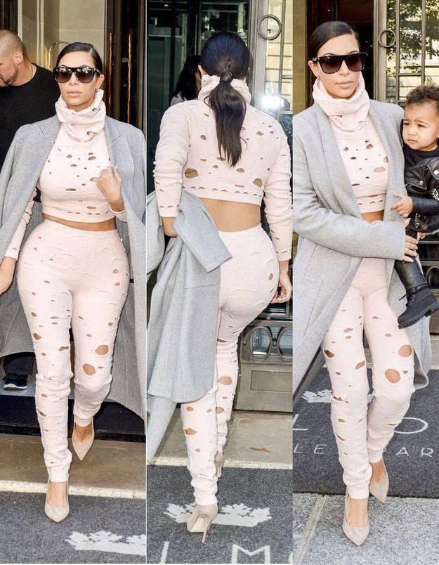 Kim Kardashian a-t-elle oublié sa fille North à l'hôtel ?
