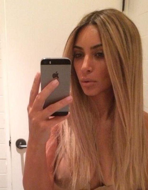 Kim Kardashian prend 1200 selfies par jour