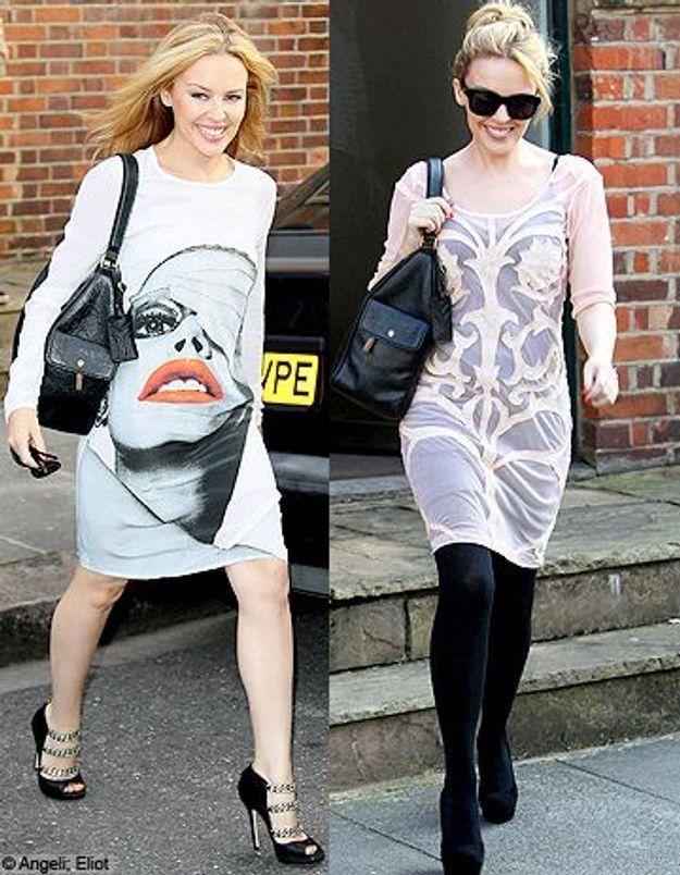 Kylie Minogue : le it bag qu'elle emmène partout
