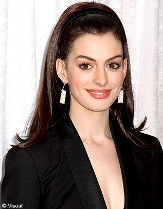 L'actrice Anne Hathaway voudrait devenir la baby-sitter des filles d'Obama