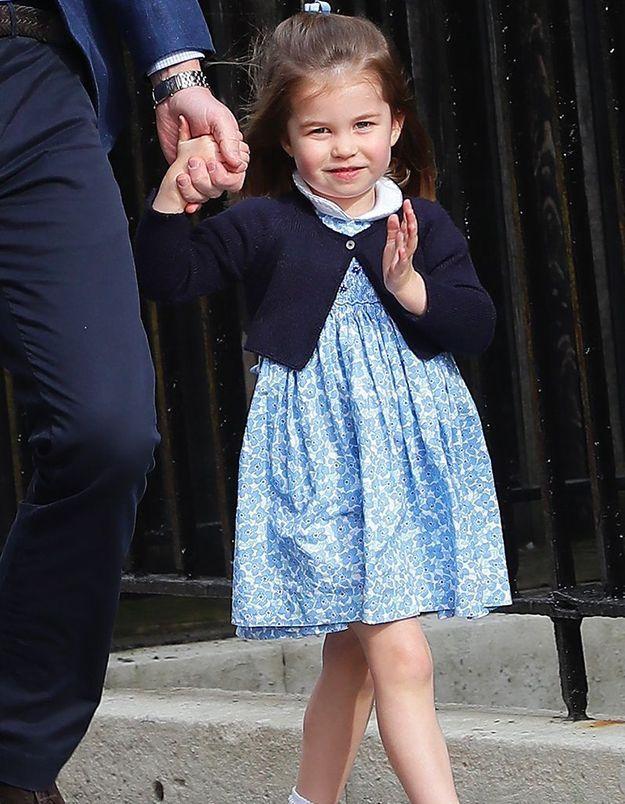 Le salut de la princesse Charlotte