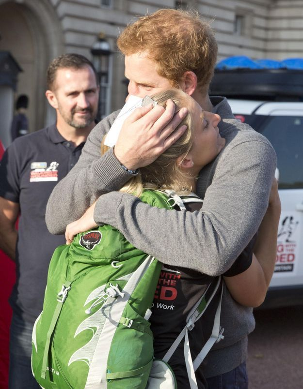 Les larmes du prince Harry devant l'exploit de vétérans blessés au combat