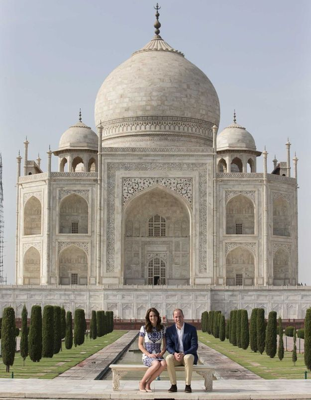 L'hommage du prince William et Kate Middleton à Lady Diana au Taj Mahal
