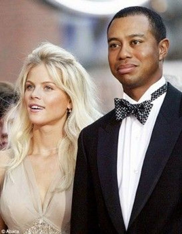 La femme de Tiger Woods se repose à Chamonix