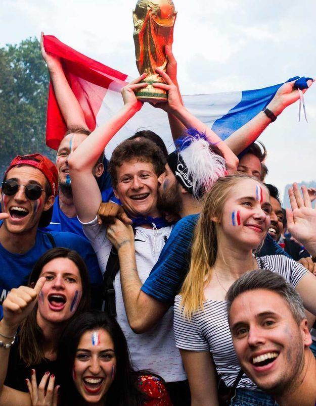 Une bien jolie réplique de la coupe du monde.