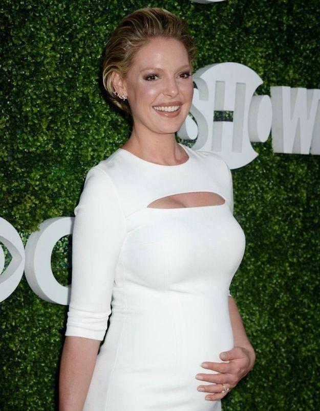 best sneakers 77e51 058a2 La grossesse difficile de Katherine Heigl   « Je ne me sens pas enceinte »