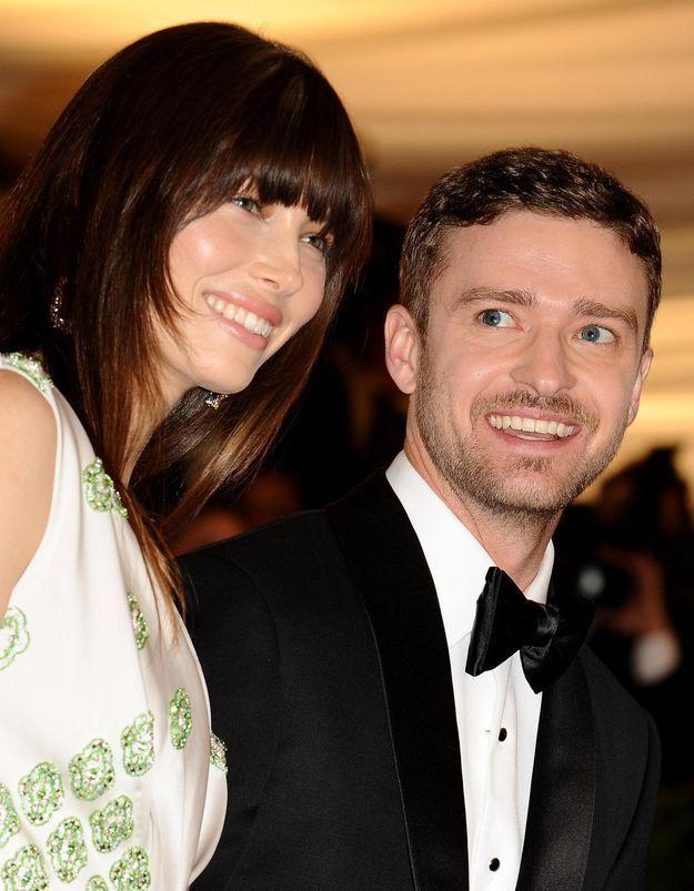 La jolie déclaration d'amour de Justin Timberlake à Jessica Biel