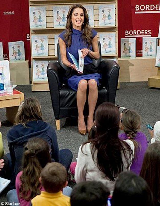 La reine Rania de Jordanie auteure d'un conte pour enfants