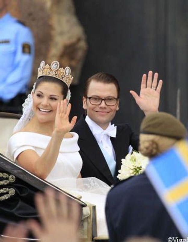 La Suède a marié sa princesse sur fond de polémiques