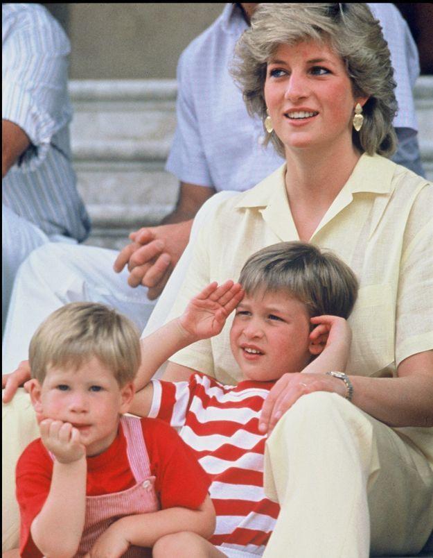 Lady Diana : une adorable vidéo souvenir montre sa belle complicité avec le prince William