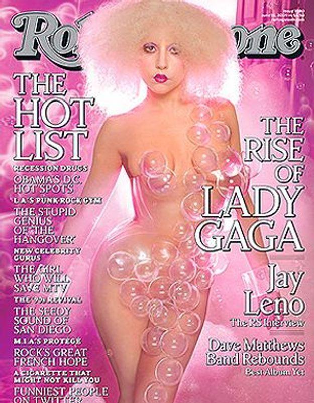 Lady Gaga mise à nu dans « Rolling Stones »