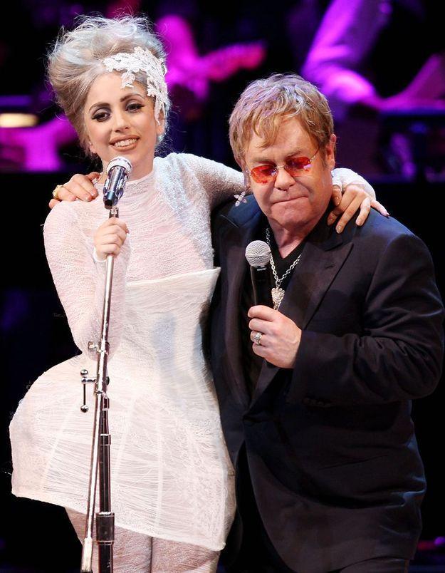 Lady Gaga, nommée marraine par Elton John pour la seconde fois