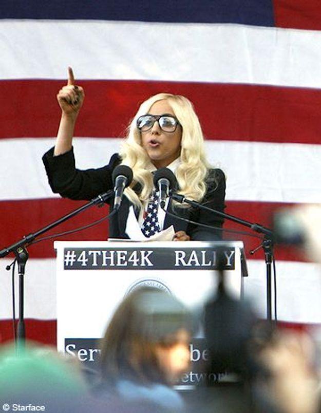 Lady Gaga veut rencontrer Barack Obama !