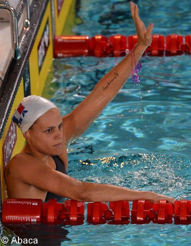 Laure Manaudou: première médaille internationale depuis 2008