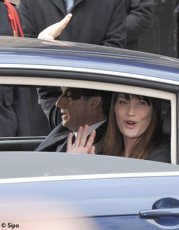 Le couple Sarkozy se repose dans une villa à Marrakech