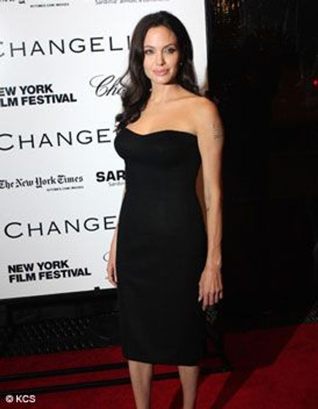 Le look du jour : Angelina Jolie