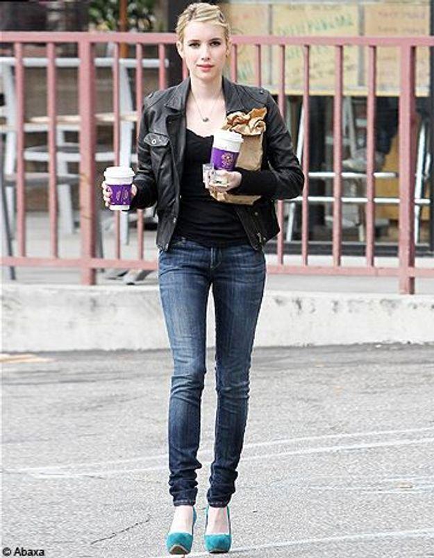 Le look du jour: Emma Roberts