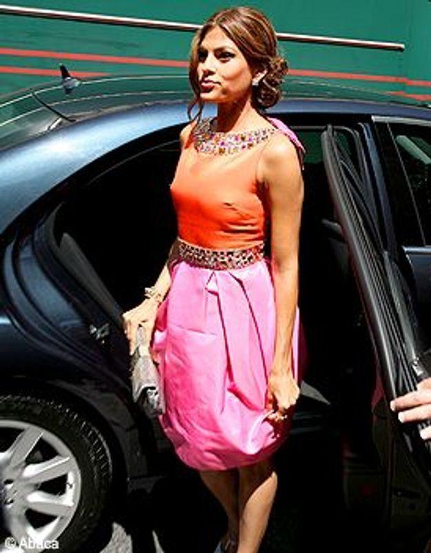 Le look du jour : Eva Mendes
