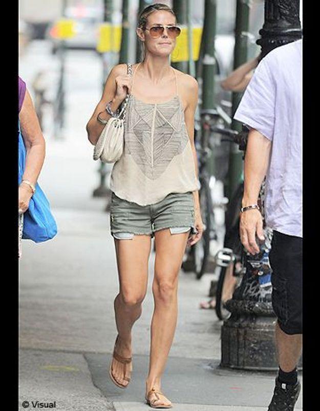 Le look du jour : Heidi Klum