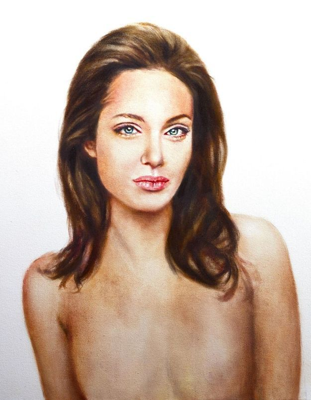 Le portrait choc d'Angelina Jolie sans seins