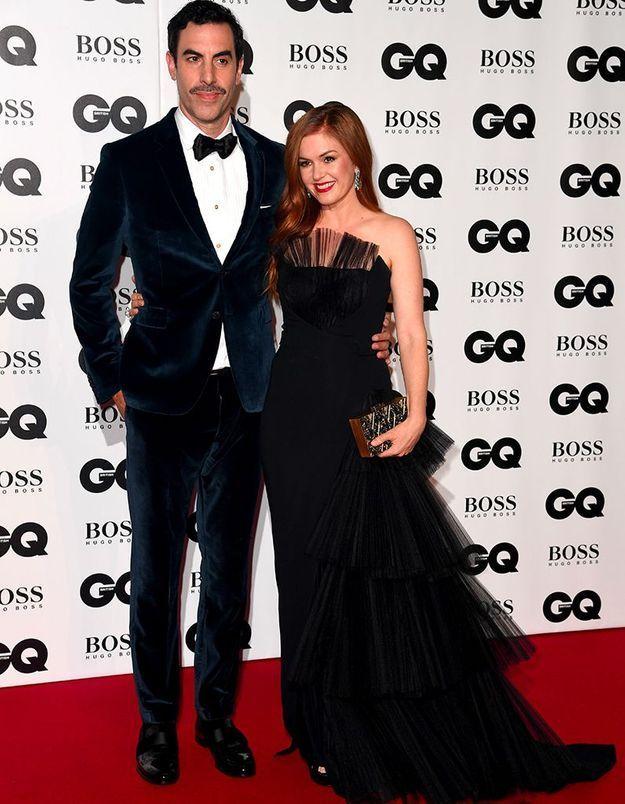 Sasha Baron Cohen et Isla Fisher