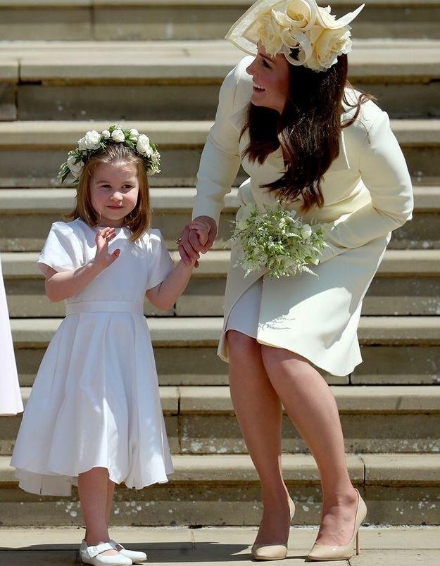 Princesse Charlotte, demoiselle d'honneur au mariage de Meghan et Harry