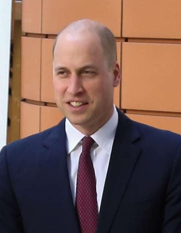 Le prince William le crâne rasé assume enfin sa calvitie