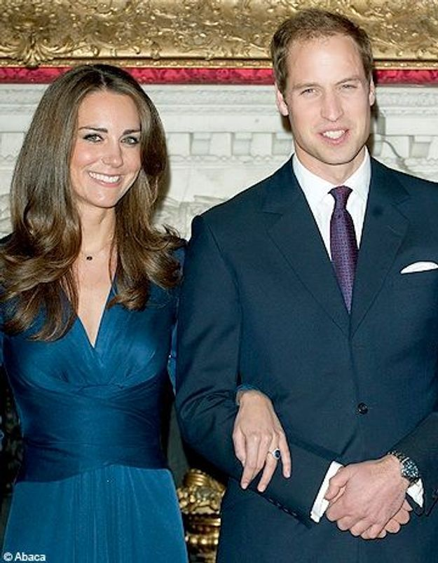 Le prince William offre la bague de Lady Di à Kate Middleton
