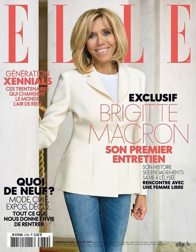 « Le seul défaut d'Emmanuel, c'est d'être plus jeune que moi » : Brigitte Macron donne sa première interview dans ELLE
