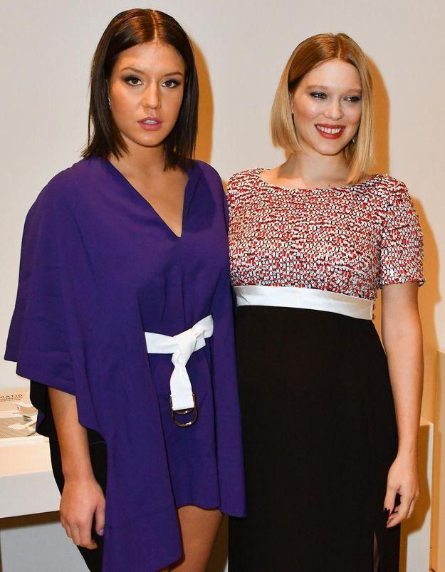 Léa Seydoux et Adèle Exarchopoulos : deux complices inséparables à la Fondation Louis Vuitton