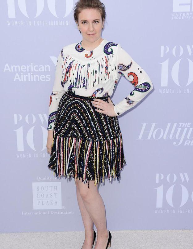 Lena Dunham contre Photoshop: «Ce n'est PAS mon corps»!